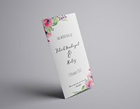 Hafiz & Titi Nurbayah's wedding invite
