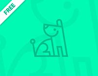 Tender Dog - Free Icon