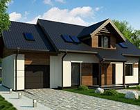 Z405 - gotowy projekt domu