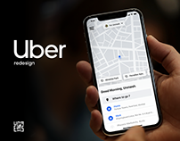 Uber Redesign Concept 2019