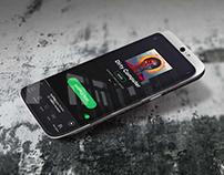 Full-screen slider phone