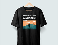 T-shirt desing for a clients merch.