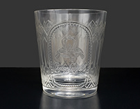 CR Embossed Glass