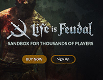 Life is Feudal - Website