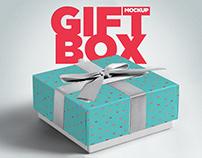 Gift Box FreeMockup