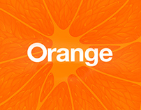 Orange player
