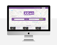 JobOn Canada UI/UX Design