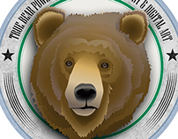 True Bear Power - alexurs.com Badge