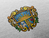 Querétaro shield. City branding