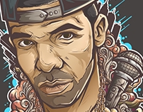 Drake portrait comission project