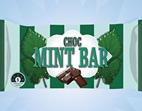 Project 2: Candy Bar wrapper Choc Mint Bar