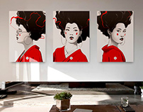 The Three Geisha
