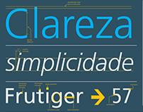 Frutiger - Infográfico