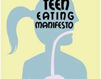The Teen Eating Manifesto - Book cover Illustration