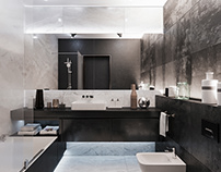 Apartment in a new building. Bathroom. (2018)