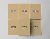 Retro Vector-glasses