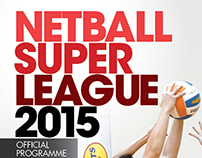 Netball Super League - Souvenir Booklet