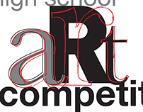 High School Art Competition Logo