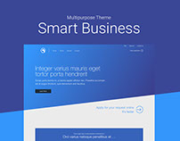 Smart Business - Multipurpose Theme - Adobe XD