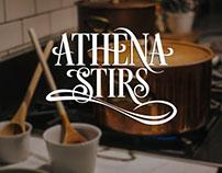 Athena Stirs Logo