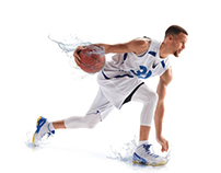 Drink Amazing ~ Steph Curry ~ Creative Retouching