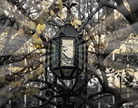 Lamp at City Hall