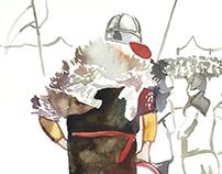 Event-illustration. Битва тысячи мечей, Коломенское