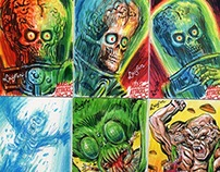 Mars Attacks: Occupation sketch cards