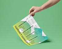 Typographical Menu Design / School Project
