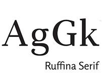 Ruffina Serif   Tipografía