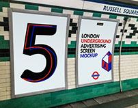 London Underground Ad Screen Mock-Ups 2