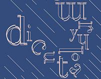 Dicut – Typeface Design