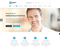 Mirror - Responsive Business WordPress Theme
