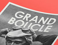 GRAND BOUCLE – Exhibition, Illustration, Screenprinting