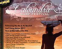 Caloundra Surf Festival Posters