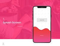 Salon Mobile app Design