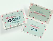 Season's Holiday Card Design