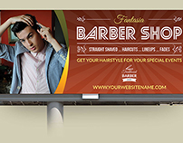 Barber Shop Billboard Template