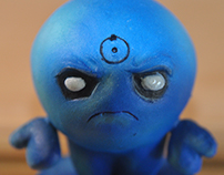 Art Toy El Ente Watchmen Doctor Manhattan
