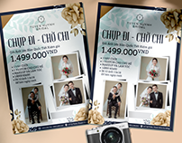 Wedding flyer design