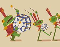 Frog Parade