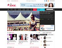 Layout Website Newspaper