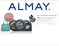 ALMAY in-store collateral