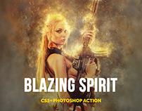 Blazing Spirit Photoshop Action