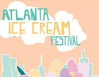 Atlanta Ice Cream Festival Mock Up