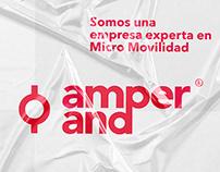 Branding . Amperand