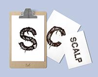 SCALP - Hair typography