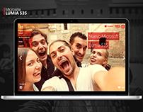 Microsite Lumia 535 - CLARO