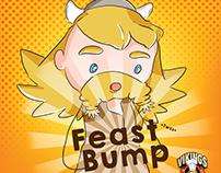 Feast Bump Comic Strip