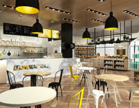Store Design X White Wood House